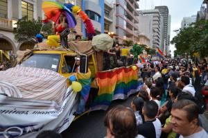 Municipio de Guayaquil autoriza Marcha del Orgullo Gay 2014-Siluetax-DianeRodriguez