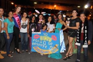 Beso Publico contra el rechazo a la Homofobia y Transfobia el dia 17 de mayo del 2014, evento realizado por Silueta X (83)