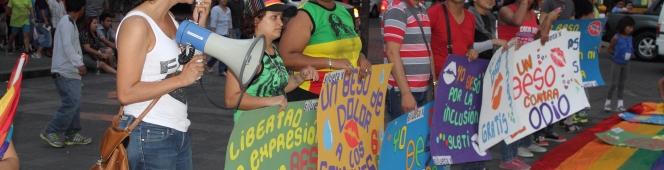 Memorias del Beso Diverso enGuayaquil