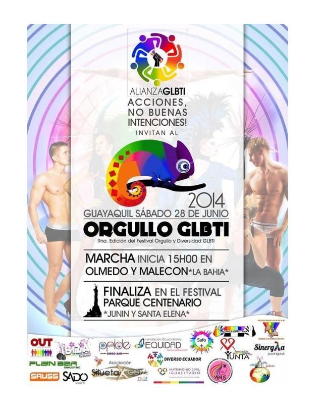 Marcha del Orgullo y Diversidad Sexual 2014