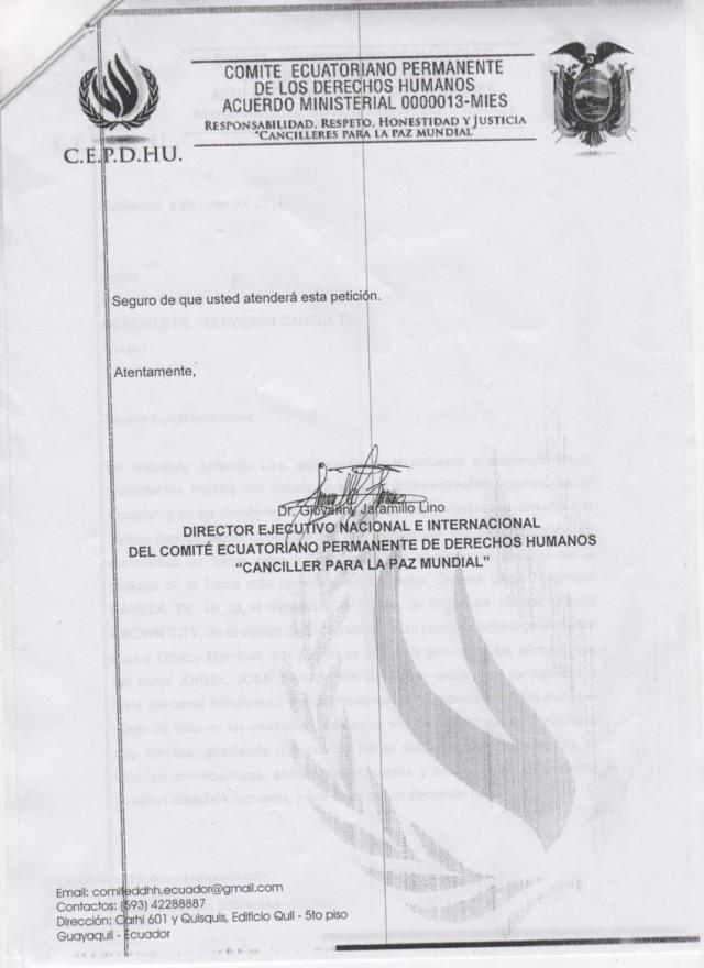 Canela tv denunciada ante SUPERCOM -Siluetax (1)