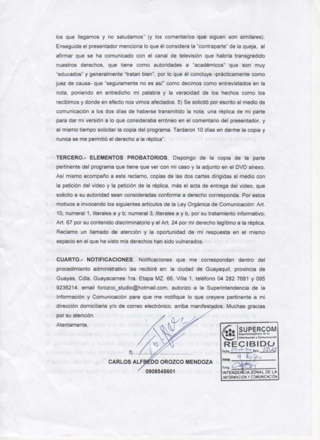 Canela tv denunciada ante SUPERCOM -Siluetax (3)