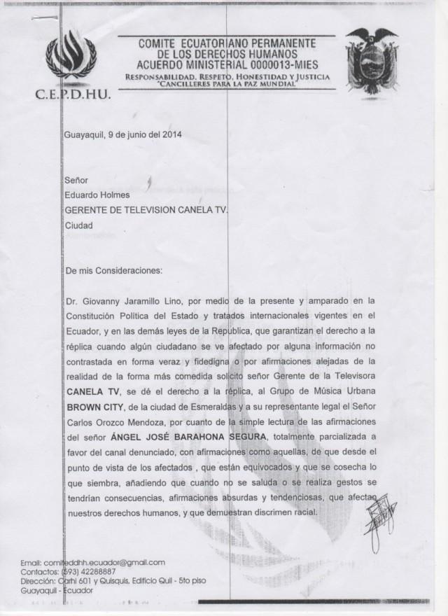 Canela tv denunciada ante SUPERCOM -Siluetax (7)