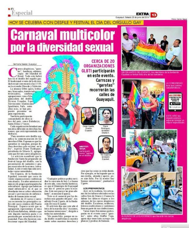 Carnaval multicolor por la diversidad sexual-Siluetax-DianeRodriguez