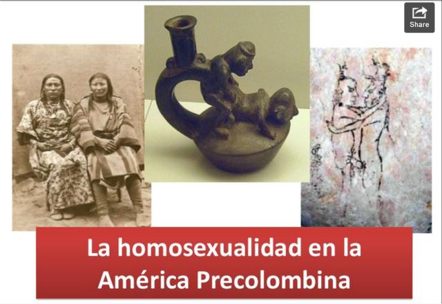 La homosexualidad en la américa precolombina