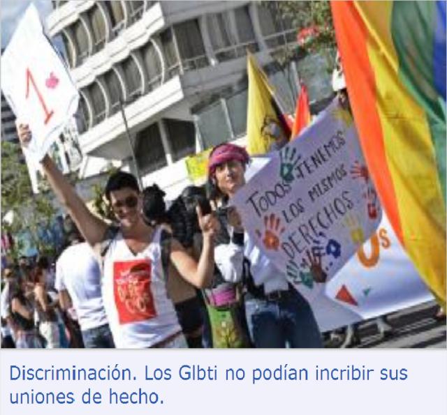 Acuerdo entre Ejecutivo y grupos GLBTI se concretó el 18 de agosto