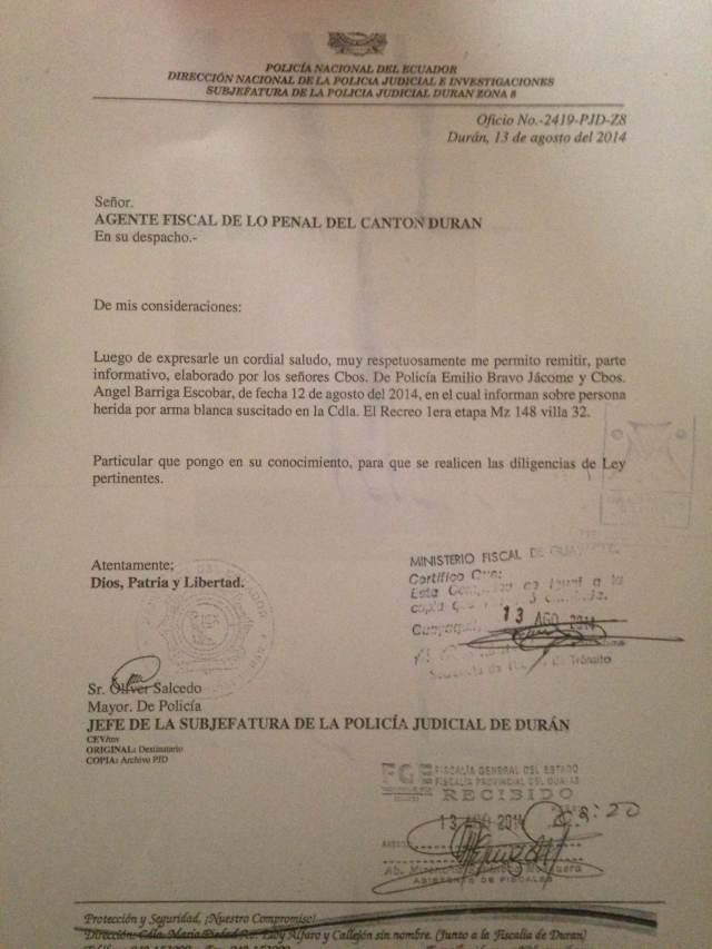 Documentos de denuncia de androgina presentada en Silueta X (3)
