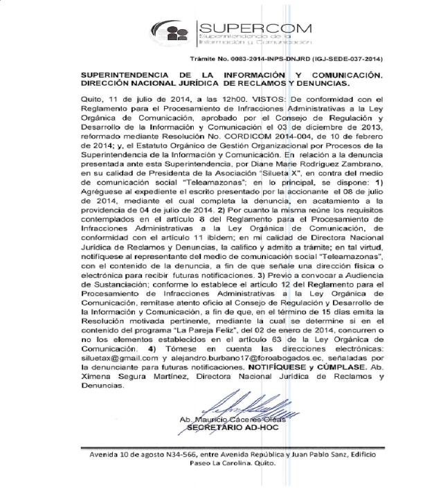 Superintendencia de la Informacion y Comunicacion-Siluetax