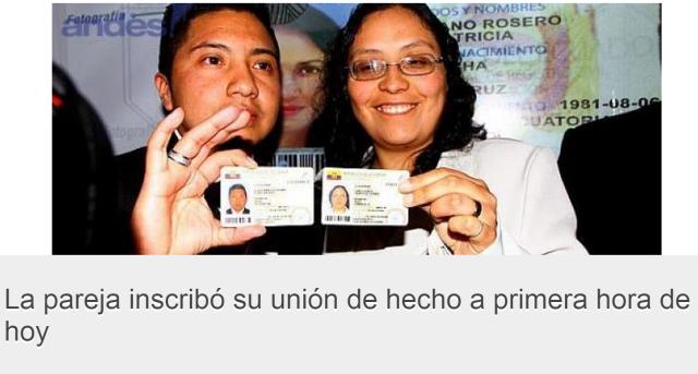Aleks y Janeth, una pareja trans-lésbica registran su unión de hecho en Quito-SiluetaX