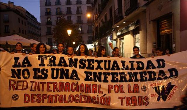 23 de Octubre Dia Internacional por la Despatologización Trans