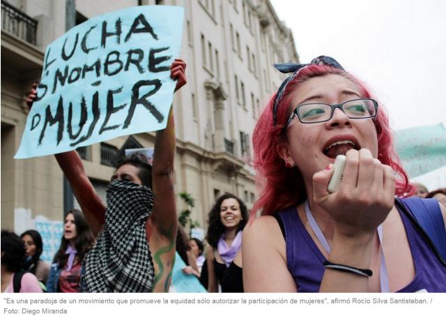 El doble discurso del encuentro feminista en Lima.