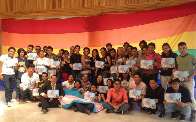 Primer encuentro para defensoras y defensores de derechos humanos TILGB LGBT de Ecuador, Yungilla, Cuenca, Ecuador 20 y 21 de Diciembre de 2014