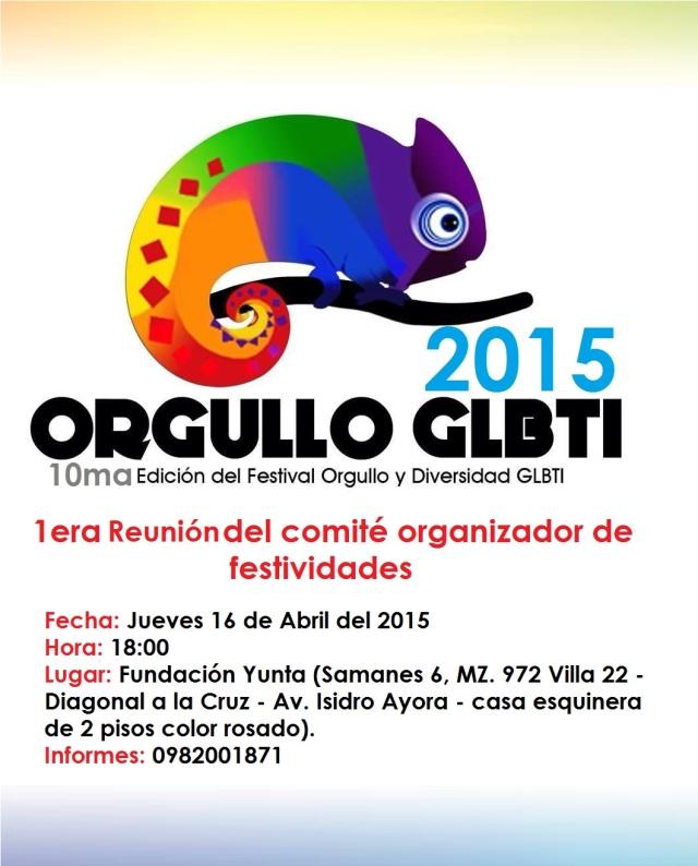 Orgullo y diversidad sexual 2015