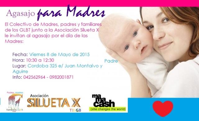 Agasajo por el día de las Madres - Colectivo Padres y Madres de los LGBT y Silueta X