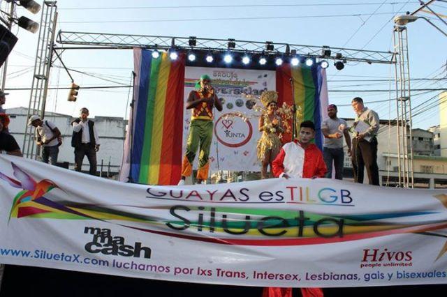Orgullo LGBT Gay Ecuador Guayaquil 2015 - Asociación Silueta X (139)