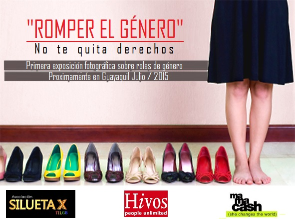 Romper el género - Exposición fotografica sobre roles - Artivismo Silueta X