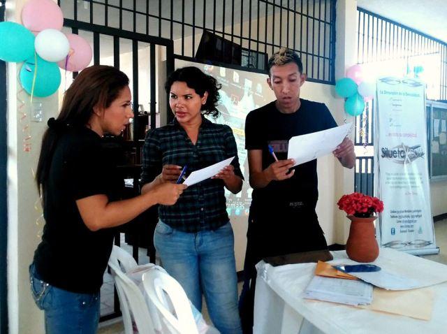 Taller sobre diversidad sexual se efectúa en CRS Varones de Guayaquil- SiluetaX