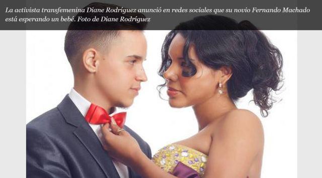 La activista trans Diane Rodríguez anuncia que su novio está embarazado - SiluetaX - DianeRodriguez