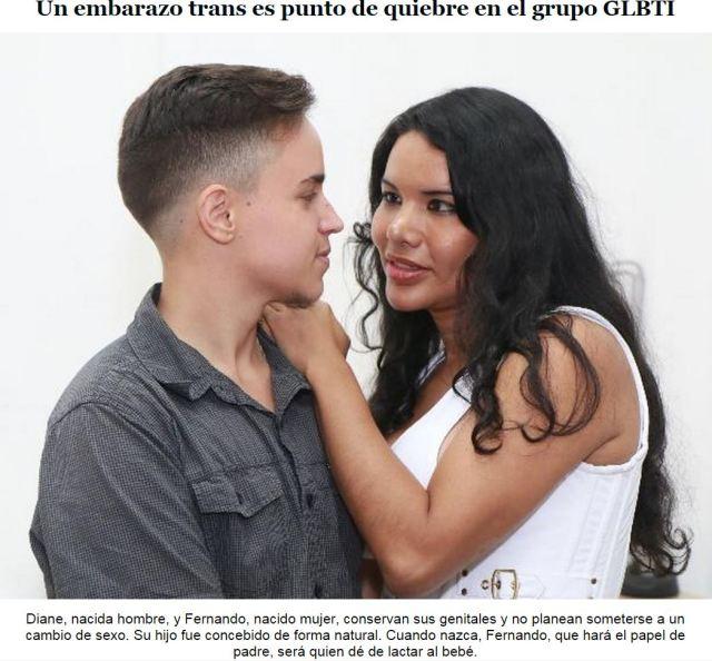 Un embarazo trans es punto de quiebre en el grupo GLBTI  _ SiluetaX - DianeRodriguez