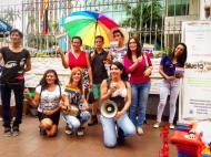 Planton en conmemoración 18 años despenalización de la homosexualidad en Ecuador - 25 de Noviembre 2015 - Silueta X (1)