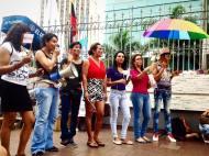 Planton en conmemoración 18 años despenalización de la homosexualidad en Ecuador - 25 de Noviembre 2015 - Silueta X (2)