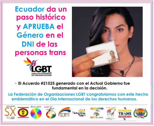 Ecuador da un paso Histórico al reconocer el Género de las Personas Trans en el DNI o cédula - A nivel mundial es el único país que reconoce el género de las personas Trans - Silueta X.png