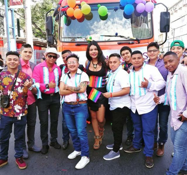 Asociación Transmasculinos Ecuador con el apoyo de Diane Rodriguez
