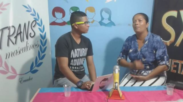 1 asociación transmasculinos ecuador - programa en vivo hombres trans - padres con hijos lgbt