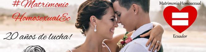 Hoy tenemos la oportunidad de unir nuestras vidas!  #MatrimonioHomosexualEc