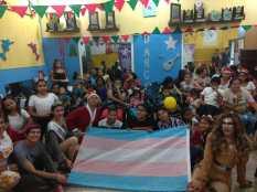 Agasajo de niños con VIH - SIlueta X - Cámara LGBT - Transmasculinos Ecuador 2019 -niños enfermeddes catastroficas (13)