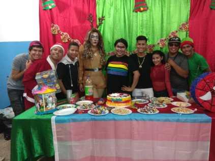 Agasajo de niños con VIH - SIlueta X - Cámara LGBT - Transmasculinos Ecuador 2019 -niños enfermeddes catastroficas (65)