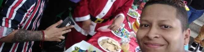 Niños/as vulnerables y con enfermedades catastróficas conmemoran la Navidad con LGBT´s y personastrans